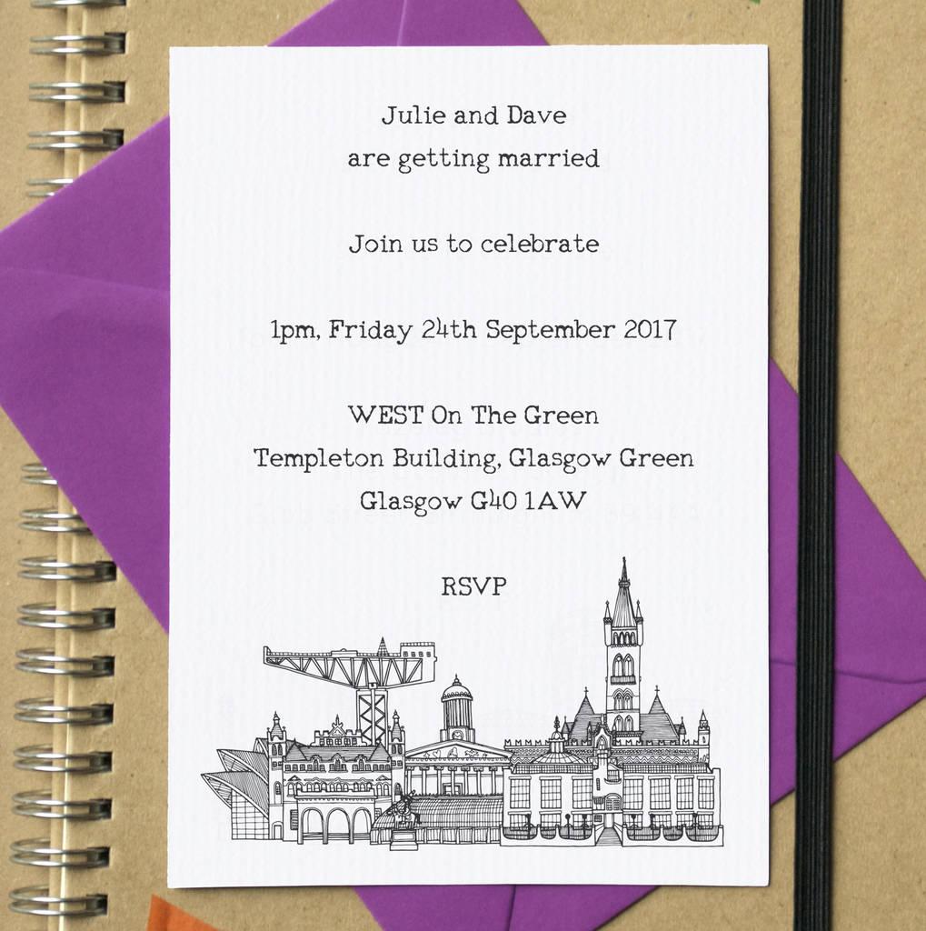 Birthday Invitations Glasgow