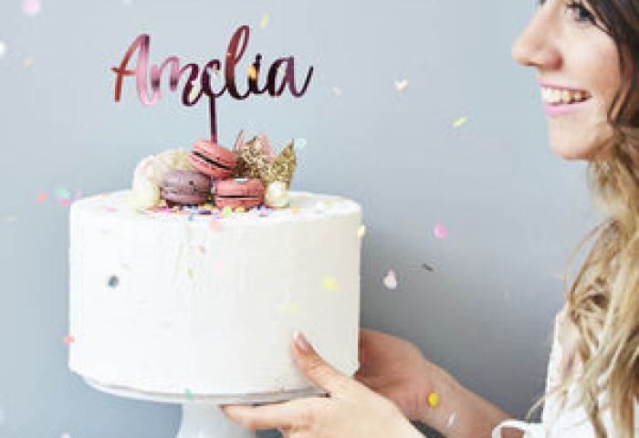 Personalised Cake Toppers And Decorations Notonthehighstreetcom