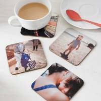 set of four personalised drinks coasters by instajunction ...