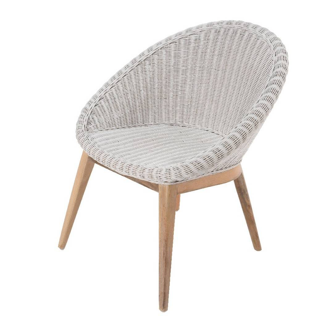 white bucket chair best beach with canopy woven tub by ella james notonthehighstreet