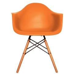 Mustard Yellow Bean Bag Chair Low Leg Recliner Chairs Eames Style Daw Arm Deep Colours 20 43 By