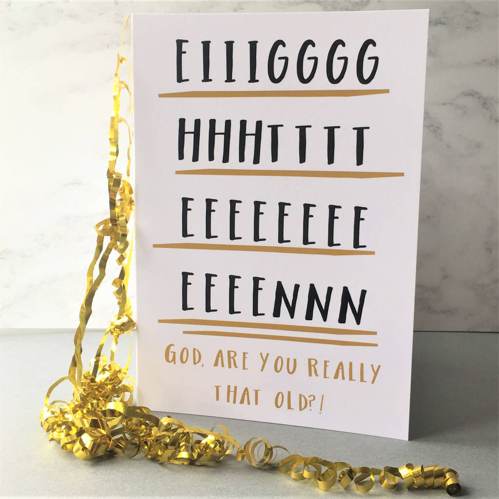 Funny 'eighteen' 18th Birthday Card By The New Witty