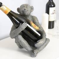 personalised monkey wine bottle holder by dibor ...