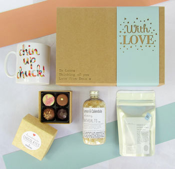 Personalised 'With Love' Gift Box