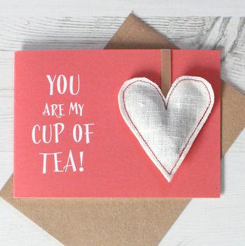 Valentine's Day Tea Card