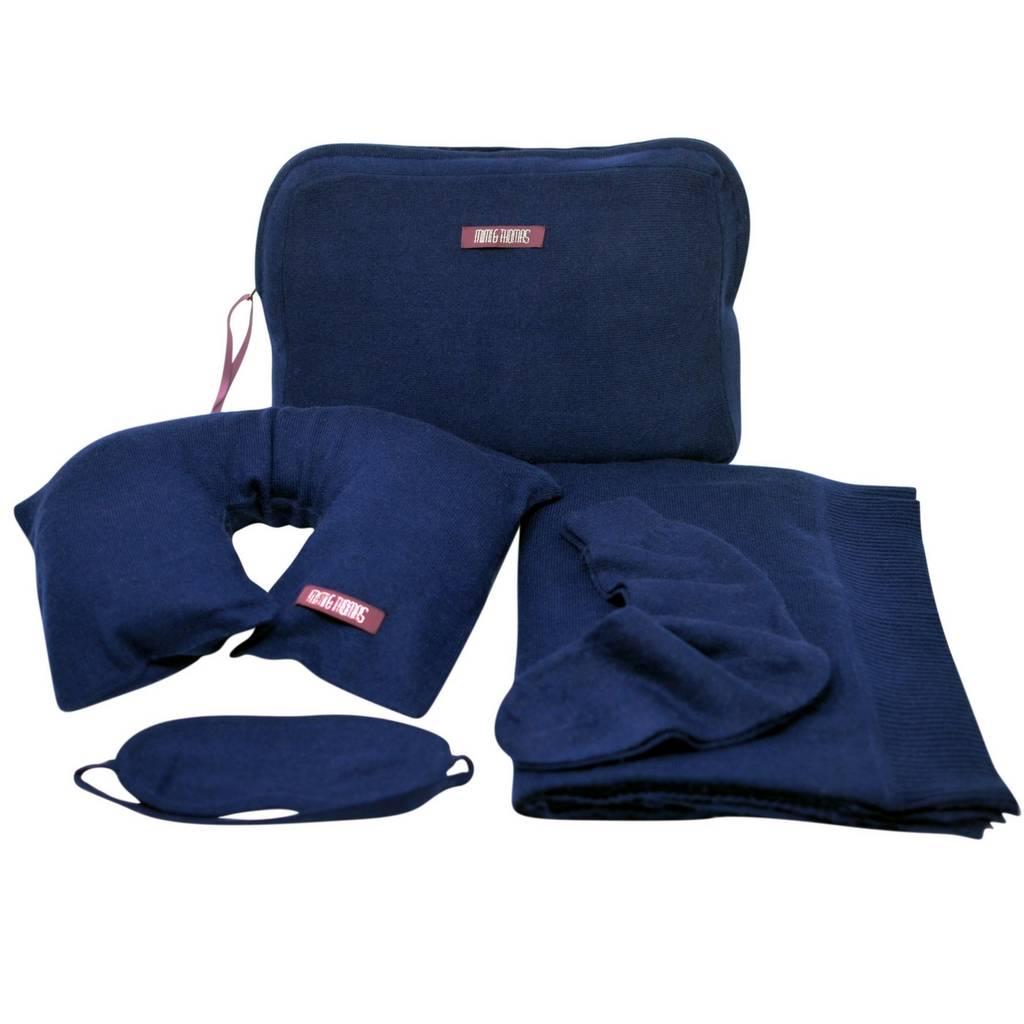 pillow travel set blanket mask