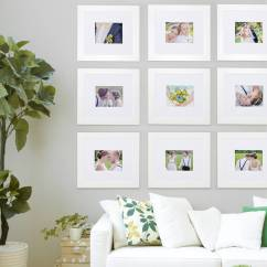 Wall Frames For Living Room Decorate My Small Gallery Frame Collection By Picture That Of 9 In White