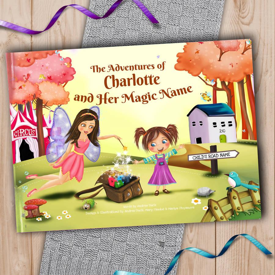 personalised keepsake story book