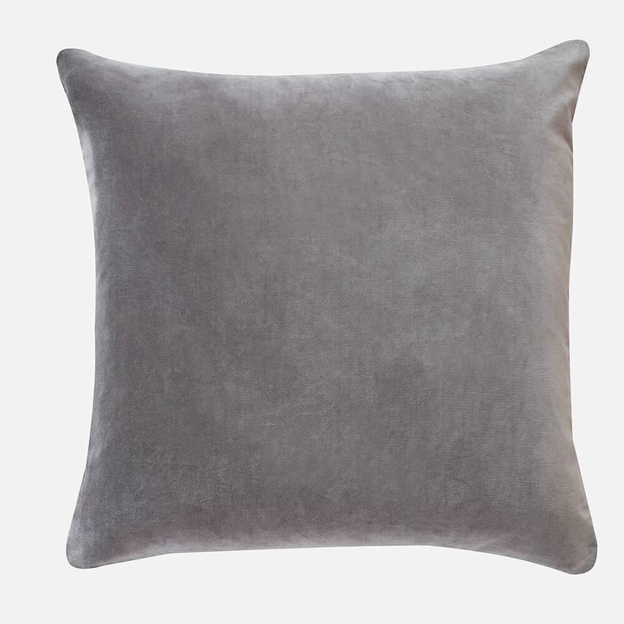 Velvet Cushions By Home Address