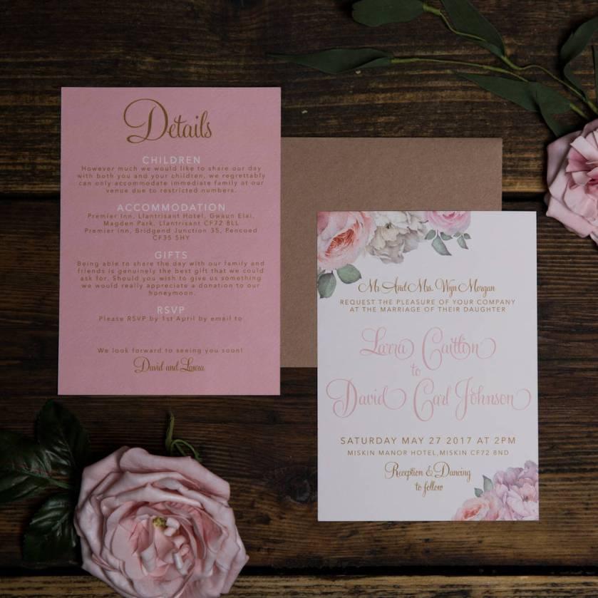 True Romance Wedding Invitations