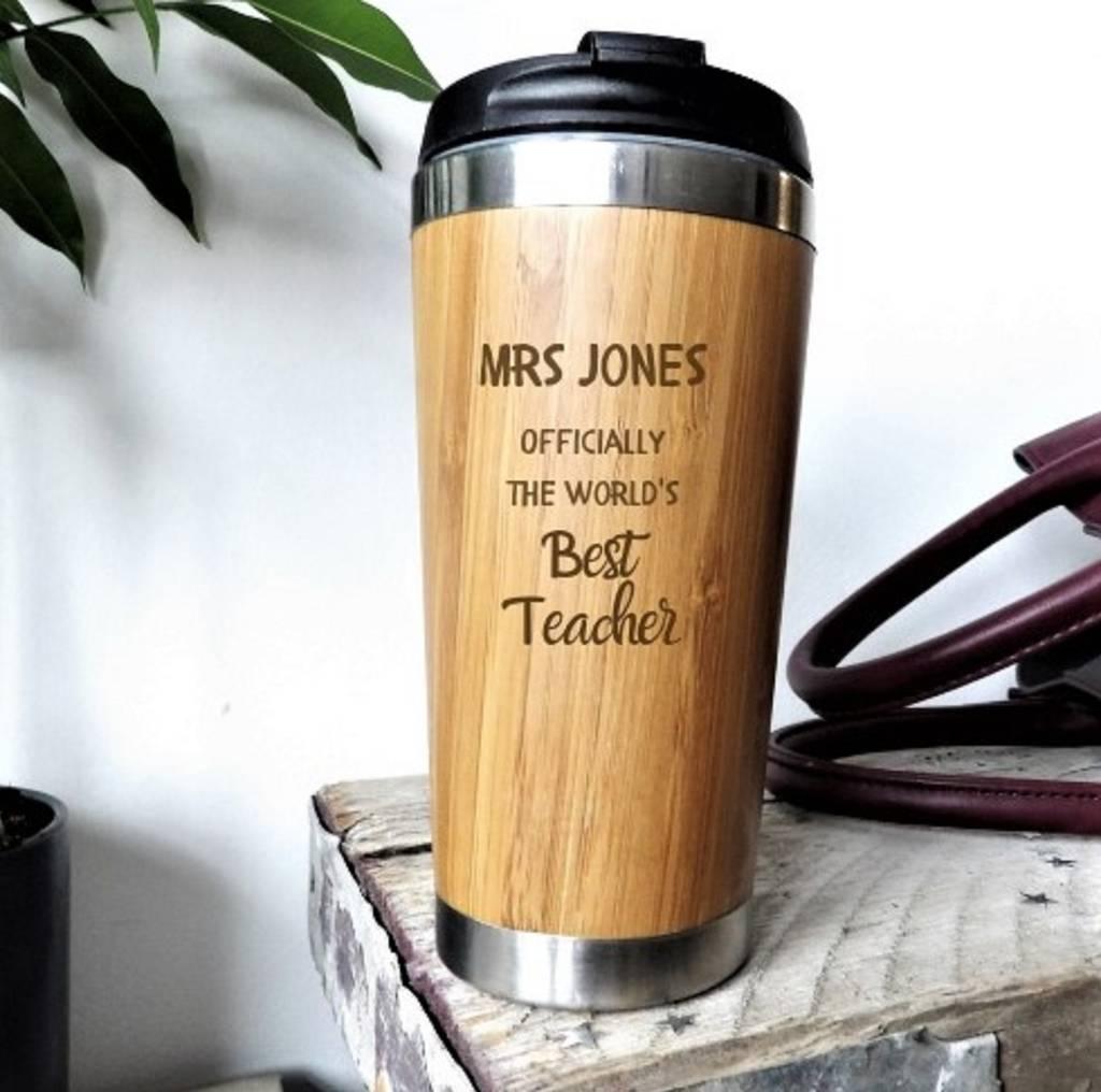 gift for teacher personalised