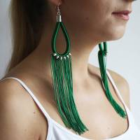 shoulder duster earrings by le ekhaya | notonthehighstreet.com