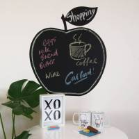 chalk board apple wall stickers by parkins interiors ...