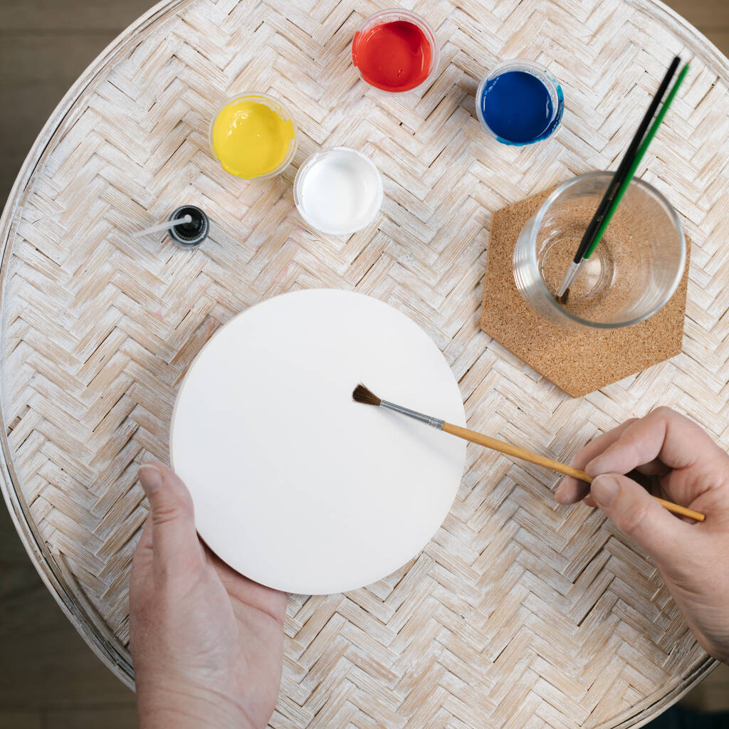 paint your own ceramic tile kit