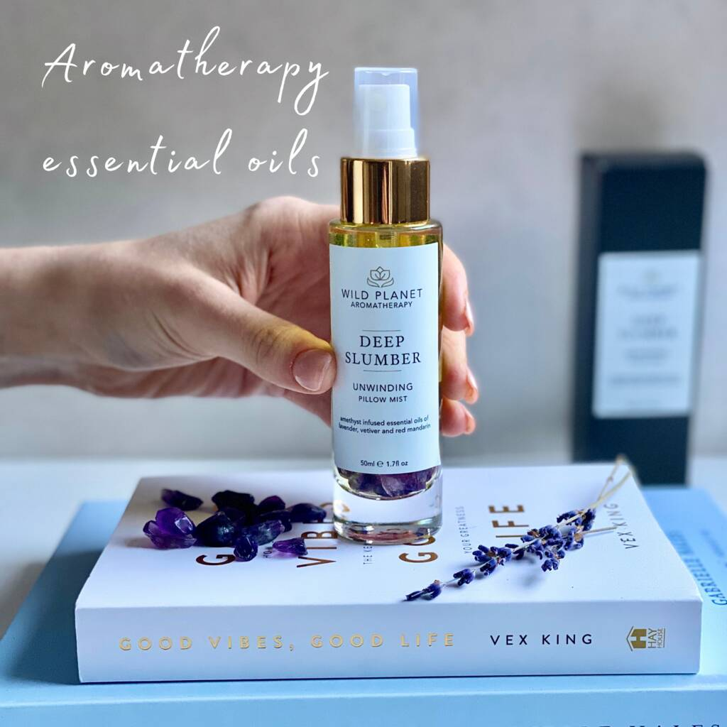 amethyst pillow mist with essential oils