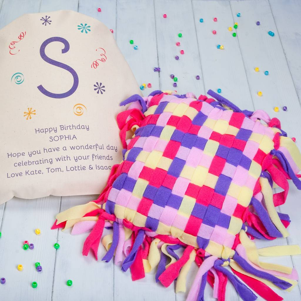 personalised make your own pillow kit by british and