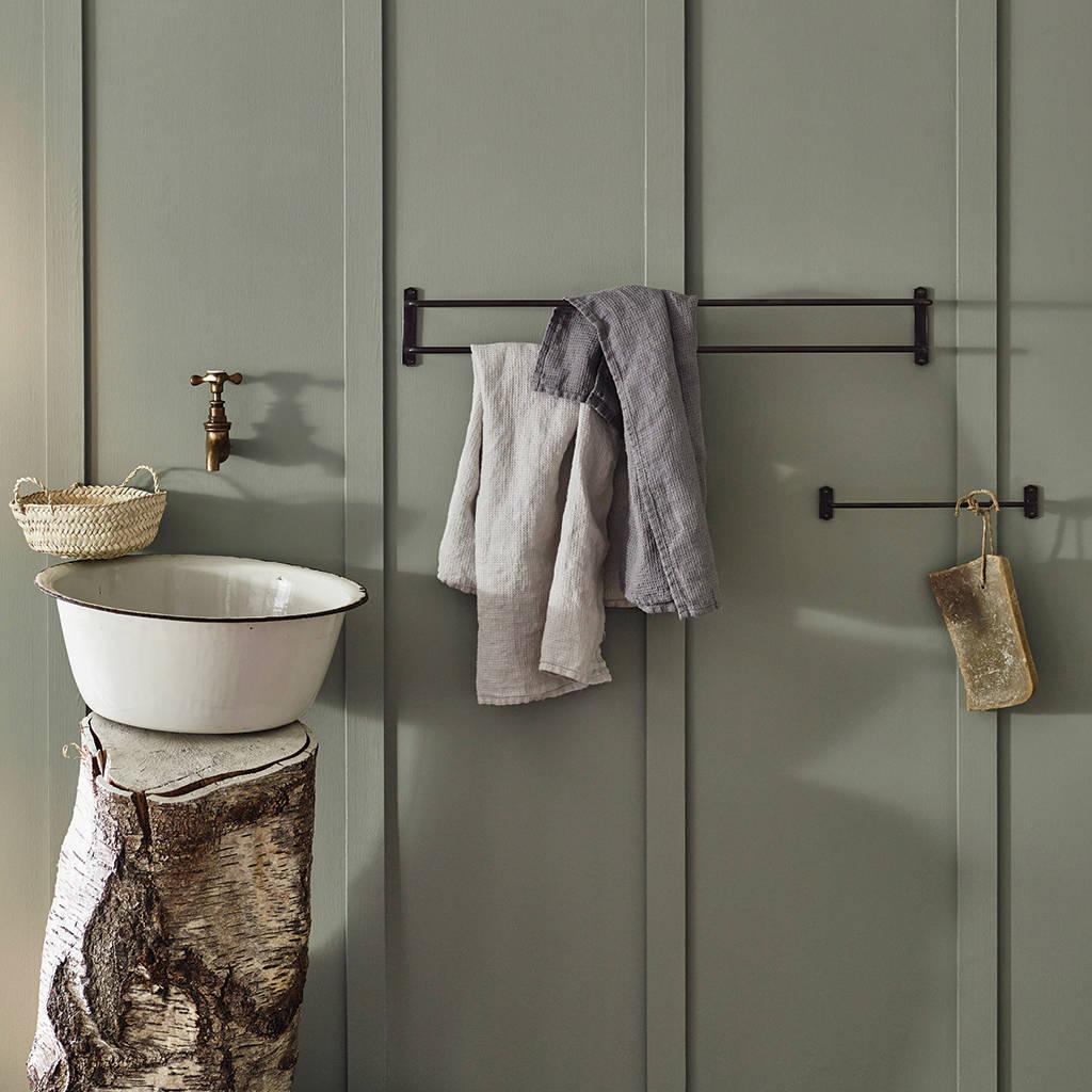 bilton hand towel rail by rowen  wren