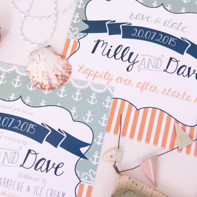 Colorful Beachy Stationery