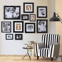 gallery frame black wall collection various sizes by ...