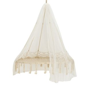 hanging chair notonthehighstreet cover rental penang garden chairs com macrame with canopy new in