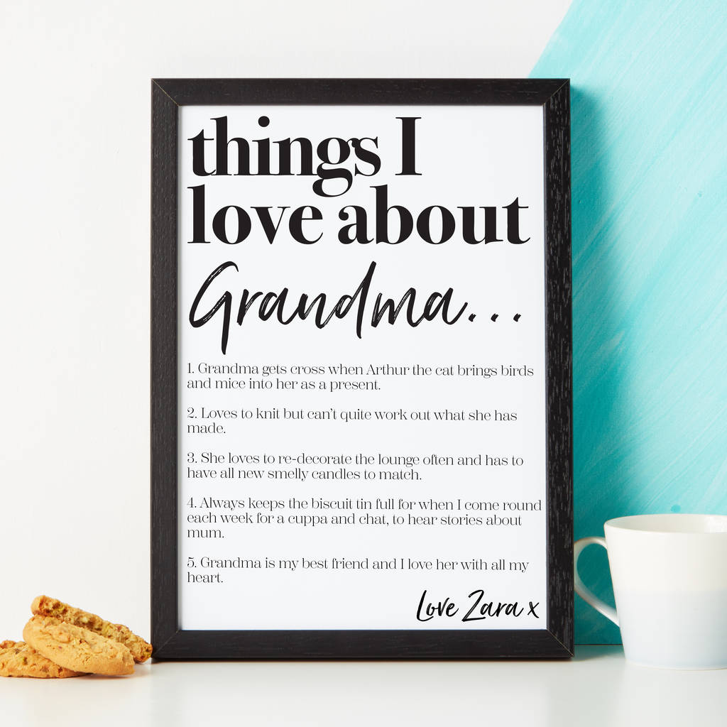 personalised things we love