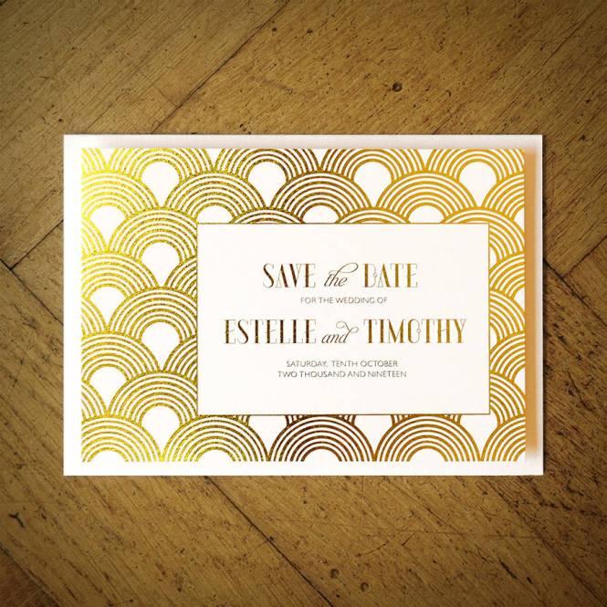Wedding Photo Ideas Great Gatsby Themed Invitations