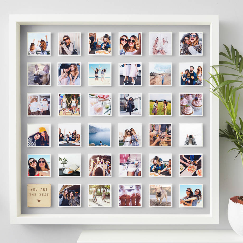personalised best friend framed