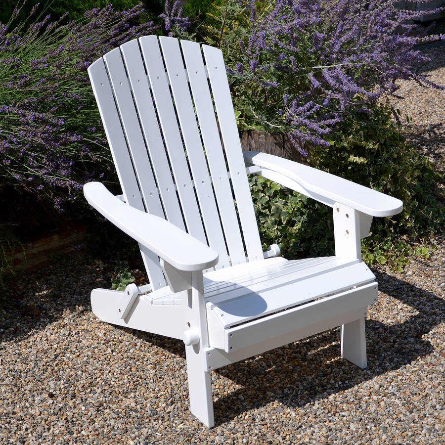 adirondack chair and luxury cushion by plant theatre