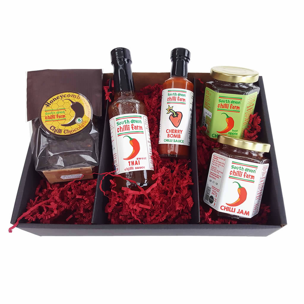 Chilli Gift Set By South Devon Farm Notonthehighstreet Com
