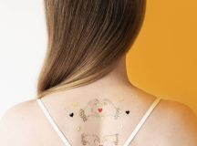 i heart you wedding temporary tattoo by paperself ...