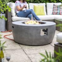 gas orlando firepit by garden leisure | notonthehighstreet.com
