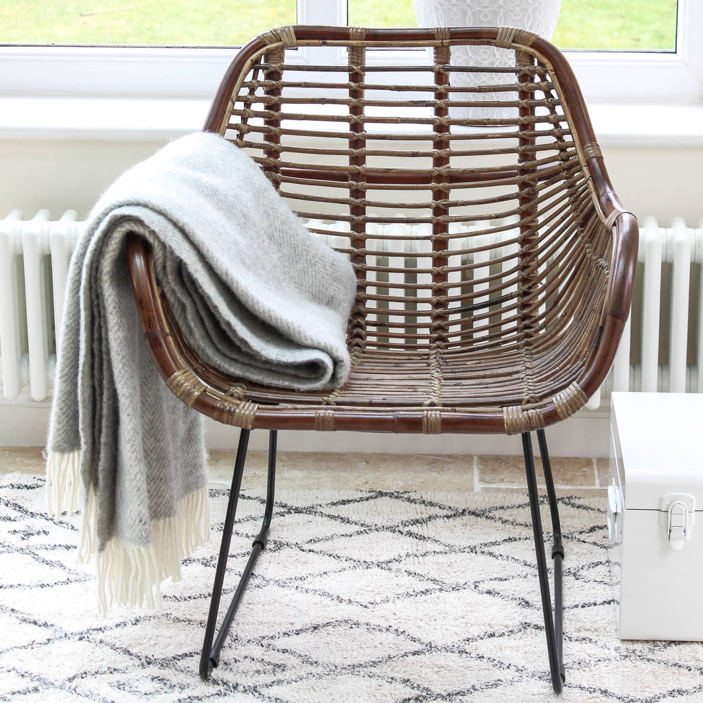 rattan arm chair dining room tables and chairs armchair by marquis dawe notonthehighstreet