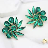 flower stud earrings by rabal | notonthehighstreet.com