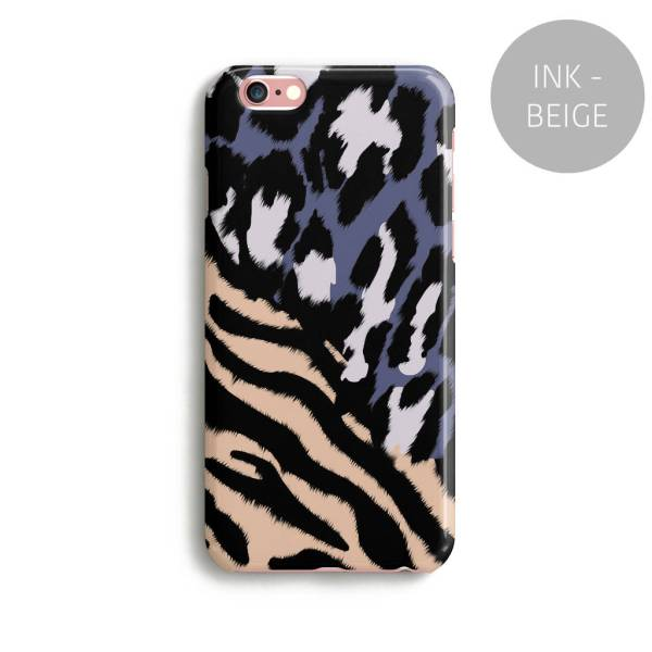 Minimal Zebra Leopard Print Phone Case Colours