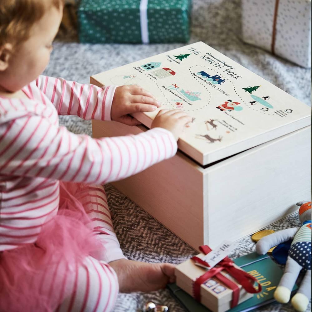 medium resolution of north pole personalised christmas eve box