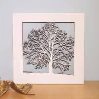 small wood tree wall art by for me & for you designs ...