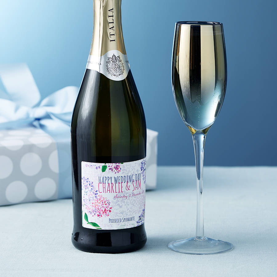 Personalised Prosecco Wine For Any Occasion By Bottle