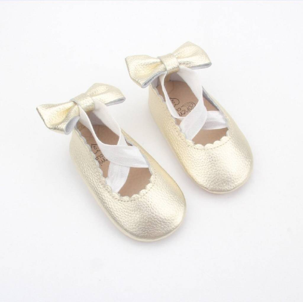 prima ballerina baby and toddler ballet shoes by bohemia's ...