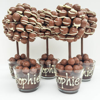 Personalised Honeycombe Chocolate Edible Tree Unique And Quirky Gift Ideas Any Odd Person Will Appreciate (Fun Gifts!)