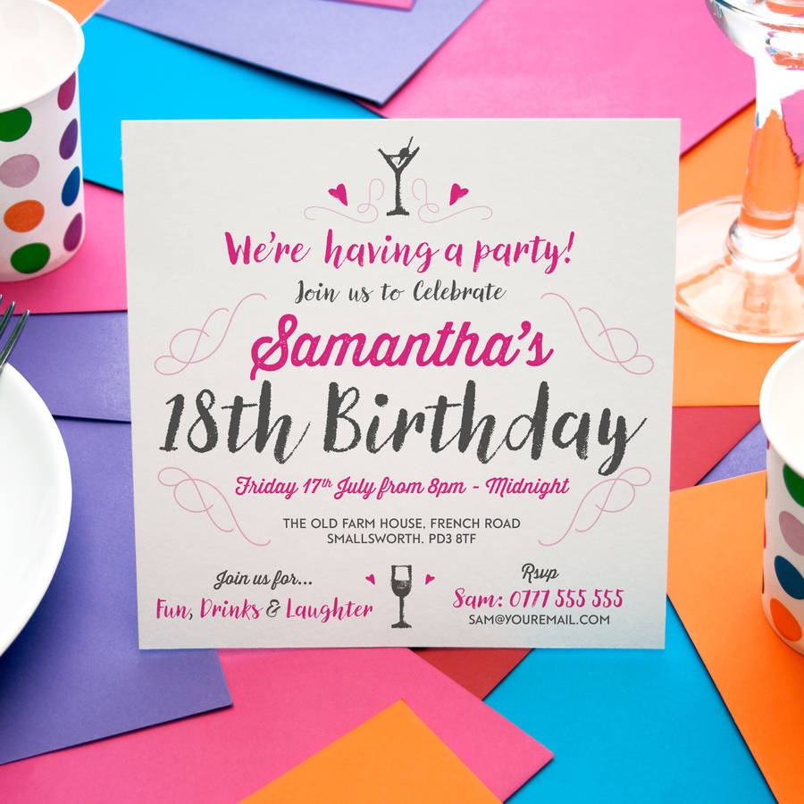 party invitations teriz yasamayolver