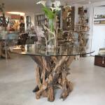 Driftwood Round Dining Table Base By Doris Brixham Notonthehighstreet Com