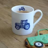 'tractor' fine bone china mug by lucy green designs ...