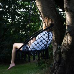 Hanging Chair Notonthehighstreet Outdoor Swing Bunnings Cream Macrame Garden By Ella James
