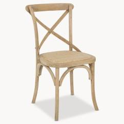 Hanging Chair Notonthehighstreet Desk Doesn't Stay Up Sandhurst Crossed Back Dining With Rattan Seat By