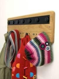 magnetic notice board and coat rack by mijmoj design