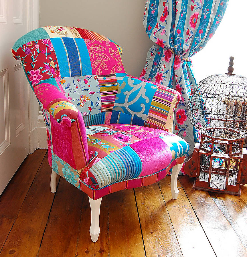 Mandalay Patchwork Chair By Couch Gb
