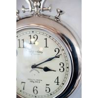 silver pocket watch wall clock by the orchard ...