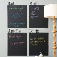 personalised chalkboard wall sticker by spin collective ...