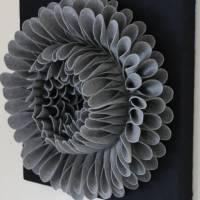 handmade felt flower wall art by sandy a powell ...