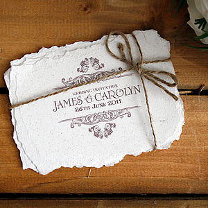 Antique Background Vintage Steampunk Poster Style Wedding Invitations